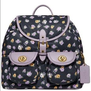 NWT Coach Floral Backpack